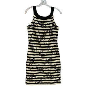 LILLY PULITZER Black/White Swizzle Stripe Dress 6